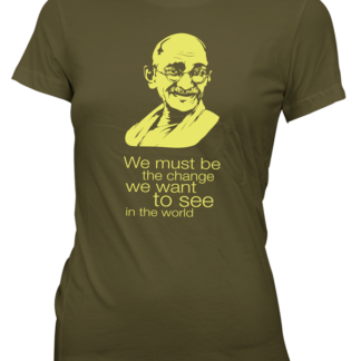 Gandhi – Be the change