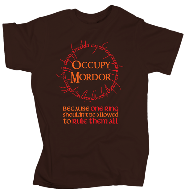 Occupy Mordor – Chocolate