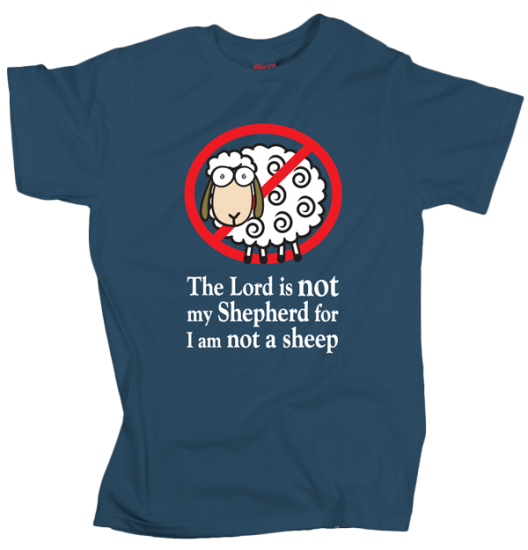No Sheep - Grey - Blue