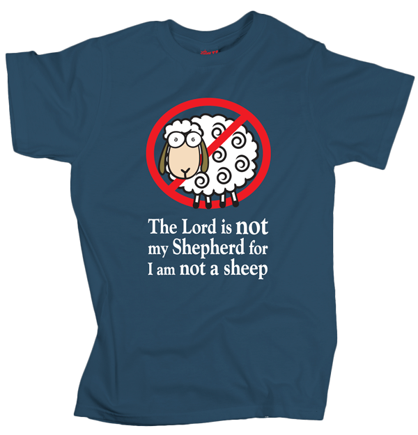No Sheep – Grey – Blue