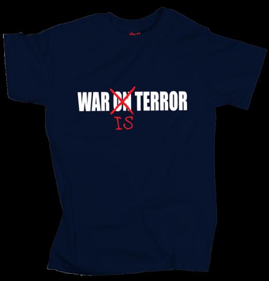 War is Terror - Dark Blue