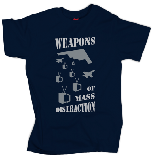Weapons of Mass Distraction - Dark Blue