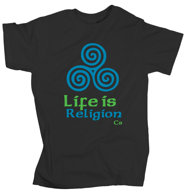 Life is Religion – Charcoal