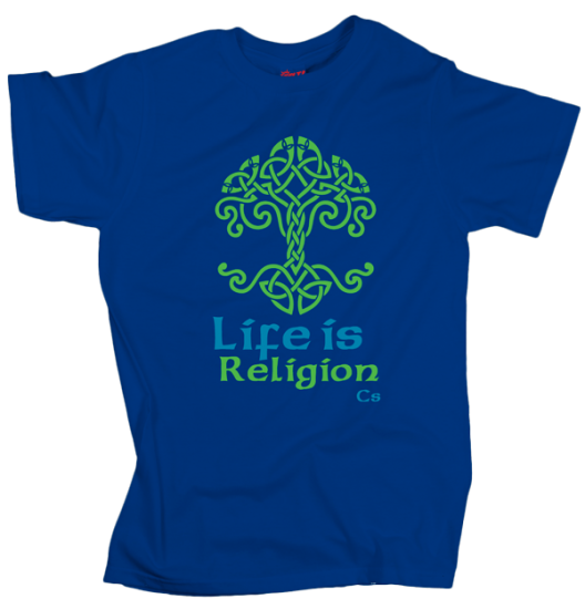 Life is Religion - Blue