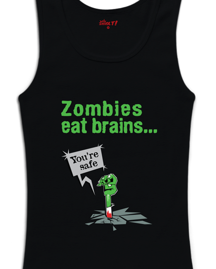 Zombies Eat Brains...