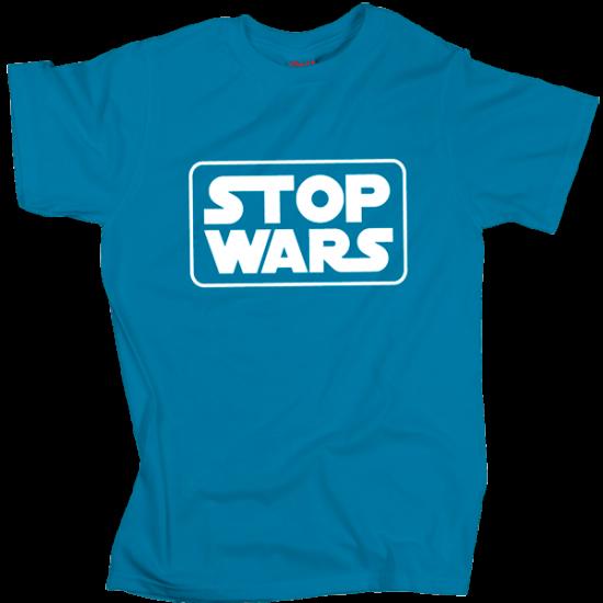 Stop Wars - Blue
