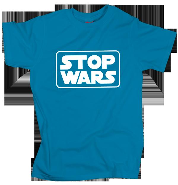 Stop Wars – Blue