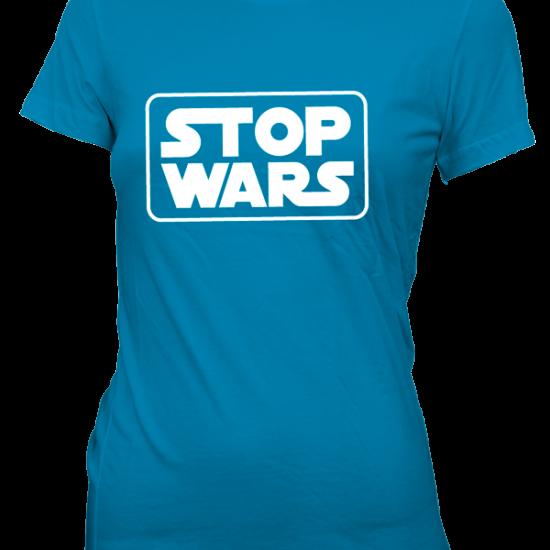 Women - Stop Wars - Blue
